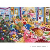 Jigsaw puzzle 500 pcs - Christmas with Grandad - John Francis (by Gibsons)