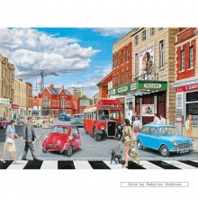 Jigsaw puzzle 500 pcs - Outside the Regent - Trevor Mitchell (by Gibsons)