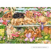 Jigsaw puzzle 1000 pcs - Keeping a Low Profile - Debbie Cook (by Gibsons)