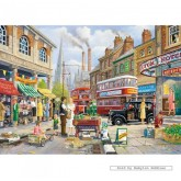 1000 pcs - The Market Stall - Derek Roberts (by Gibsons)