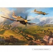 Jigsaw puzzle 1000 pcs - Typhoons at Falaise (by Gibsons)
