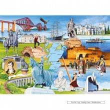 Jigsaw puzzle 1000 pcs - Scotland - Lawrie Taylor (by Gibsons)