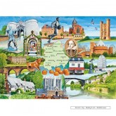 Jigsaw puzzle 1000 pcs - Heart of England - Lawrie Taylor (by Gibsons)