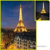 Jigsaw puzzle 1000 pcs - Paris Fluo (by Clementoni)