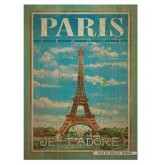 Jigsaw puzzle 500 pcs - Paris (by Clementoni)