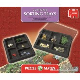1000 pcs - PUZZLE MATES SORTING TRAYS - Accessories (by Jumbo)