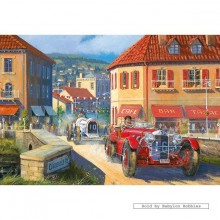 Jigsaw puzzle 500 pcs - Pedal to the Metal - Derek Roberts (by Gibsons)