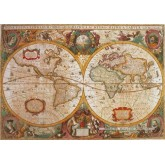 Jigsaw puzzle 1000 pcs - Ancient Map (by Clementoni)