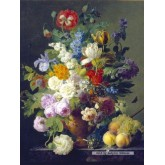 Jigsaw puzzle 1000 pcs - Van Dael - Bowl of Flowers (by Clementoni)