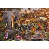 Jigsaw puzzle 3000 pcs - African Animal Kingdom (by Ravensburger)