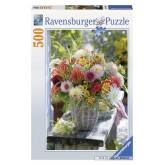 500 pcs - Beautiful Dahlias (by Ravensburger)