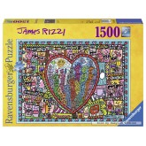 1500 pcs - All that Love - James Rizzi (by Ravensburger)