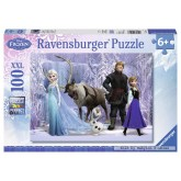 Jigsaw puzzle 100 pcs - Frozen - Disney (by Ravensburger)