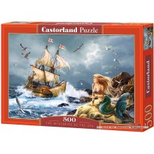 Jigsaw puzzle 500 pcs - The Mysteries of the Sea (by Castorland)