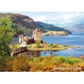 Jigsaw puzzle 2000 pcs - Eilean Donan Castle (by Castorland)