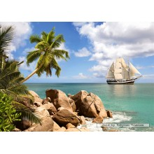 Jigsaw puzzle 1500 pcs - Sailing in Paradise (by Castorland)