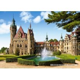 Jigsaw puzzle 1500 pcs - Moszna Castle (by Castorland)