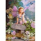 Jigsaw puzzle 1500 pcs - Spring Angel (by Castorland)