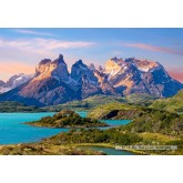 Jigsaw puzzle 1500 pcs - Torres del Paine, Patagonia, Chile (by Castorland)