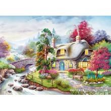Jigsaw puzzle 1000 pcs - Cottage (by Castorland)