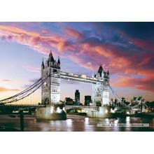 Jigsaw puzzle 1000 pcs - Tower Bridge, London, England (by Castorland)