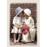 Jigsaw puzzle 1000 pcs - First Kiss (by Castorland)
