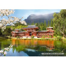 Jigsaw puzzle 1000 pcs - Replica of the Old Byodion Temple (by Castorland)