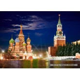 Jigsaw puzzle 1000 pcs - Red Square by Night, Moscow (by Castorland)