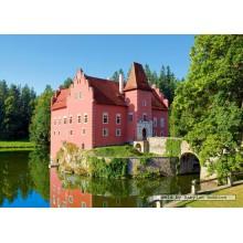 Jigsaw puzzle 1000 pcs - Cervena Lotha Castle, Czech Republic (by Castorland)
