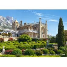 Jigsaw puzzle 1000 pcs - Vorontsov Palace, Crimea (by Castorland)