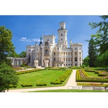 Jigsaw puzzle 1000 pcs - Hluboka Castle, Czech Republic (by Castorland)