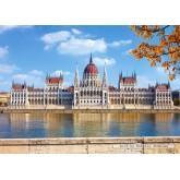 Jigsaw puzzle 1000 pcs - Parliament Building, Budapest (by Castorland)
