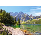 Jigsaw puzzle 1000 pcs - Morskie Oko lake, Tatras, Poland (by Castorland)