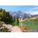 1000 pcs - Morskie Oko lake, Tatras, Poland (by Castorland)