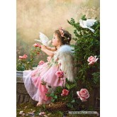 Jigsaw puzzle 1000 pcs - Angel Kisses (by Castorland)
