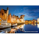 Jigsaw puzzle 1000 pcs - Old Port, Gdansk, Poland (by Castorland)
