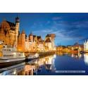 1000 pcs - Old Port, Gdansk, Poland (by Castorland)