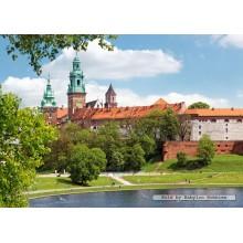 Jigsaw puzzle 1000 pcs - Wawel Royal Castle, Cracow, Poland (by Castorland)