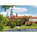 1000 pcs - Wawel Royal Castle, Cracow, Poland (by Castorland)