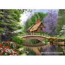 Jigsaw puzzle 1000 pcs - River Cottage (by Castorland)