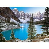 Jigsaw puzzle 1000 pcs - The Jewel of the Rockies (by Castorland)
