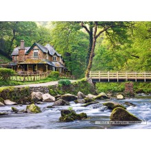 Jigsaw puzzle 1000 pcs - Watersmeet, Exmoor National Park (by Castorland)