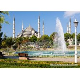 Jigsaw puzzle 1000 pcs - Sultan Ahmet Camii, Istanbul (by Castorland)