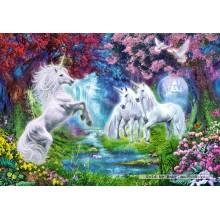 Jigsaw puzzle 1000 pcs - Unicorn Rendez vous  (by Castorland)