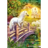 Jigsaw puzzle 1000 pcs - Enchanted Garden (by Castorland)