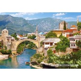 Jigsaw puzzle 1000 pcs - Mostar, Bosnia and Herzegovina (by Castorland)