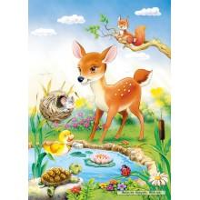 Jigsaw puzzle 260 pcs - Little Deer (by Castorland)