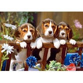 Jigsaw puzzle 260 pcs - Three Little Pals (by Castorland)