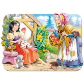 Jigsaw puzzle 30 pcs - Snow White - Shaped (by Castorland)