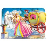 Jigsaw puzzle 30 pcs - Cinderella - Shaped (by Castorland)